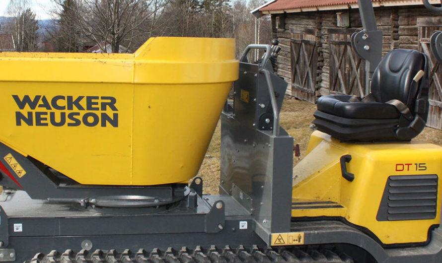 Minidumper Wacker Neuson DT 15